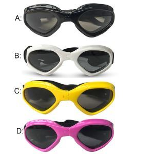 Foldable Pet Goggles Stylish Dog Sunglasses Pet Eye Protecter