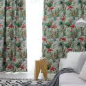 Flamingo Blackout Made to Measure Curtain Animal Jungle Theme Curtain