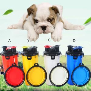 Pet Accompanying Cup Portable Travel Kettle Water Bowl Food Storage Cup