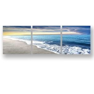Frameless Oil Painting Seaside Modern Minimalist Canva 12