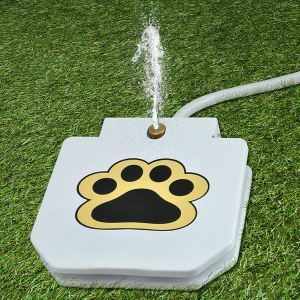Pedal-powered Pet Waterer Pet Garden Water Feeder