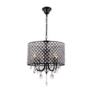 Retro Pendant Light Iron Black Craft Pendant Light Living Room Bedroom Kitchen Dining Room Light