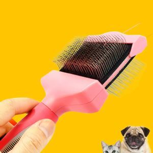 Cats Dogs Cleaning Grooming Brush Double Face Hair Removal Needle Comb Knot Removal Comb