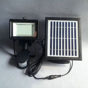 Solar Powered Landscape Light LED Ground Pathway Light LEH-53414B-Wall- PIR