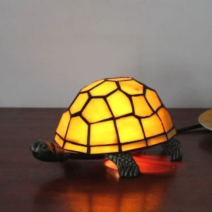 Animal Lamp Animal Style Tortoise Tiffany Table Lamp