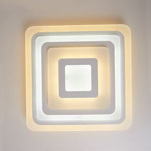 LED Ceiling Light Energy Saving Lighting Fixture Square Design Living Room Bedroom