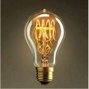 5Pcs 40W E27 Retro/Vintage Edison Light Bulb A19 Halogen Bulbs