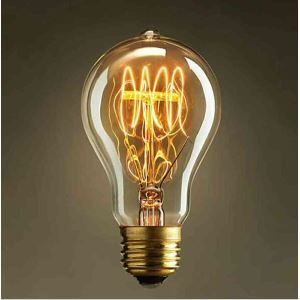 8Pcs 40W E27 Retro/Vintage Edison Light Bulb A19 Halogen Bulbs