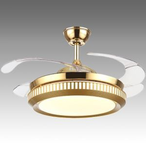 Modern Ceiling Fan Light Mute Fan Light Exquisite Decoration Light with Remote Control