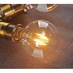 8Pcs 6W G95 Retro/Vintage Edison Light Bulbs LED Bulbs