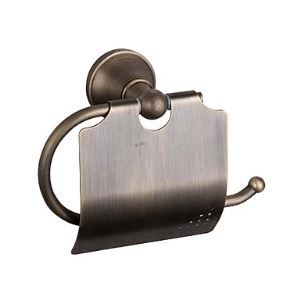 Antique Brass Wall-mounted Toilet Roll Holder (1018-J-29-6)