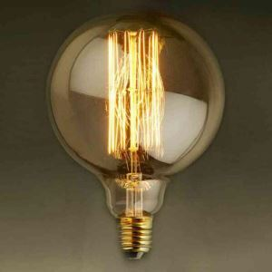 10Pcs 40W G95 Retro/Vintage Edison Bulbs