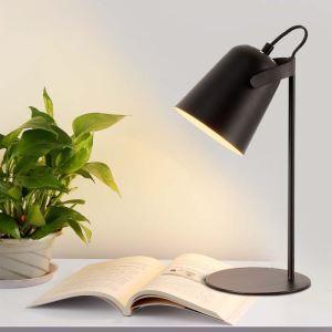 Postmodern Iron Table Lamp Angle Adjustable Table Lamp Pink/Green/Gray/White/Black Light