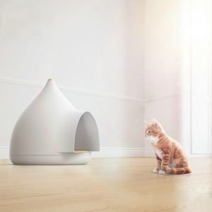 Plastic Dog House Romovable Cat House Semi Enclosed Cat Bed