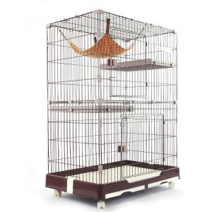 Cat Villa Double Layers Cat Cage Pet Resting Cage