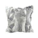 Modern Pillow Cover Sofa Pillowcase Faux Rabbit Fur Pillow Cover Fur Cushion