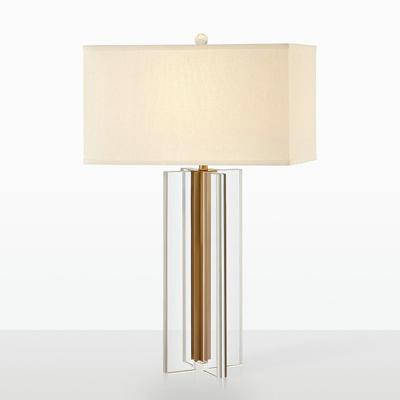 Table Lamp Square Shade Desk Light, Table Lamp Square Shade