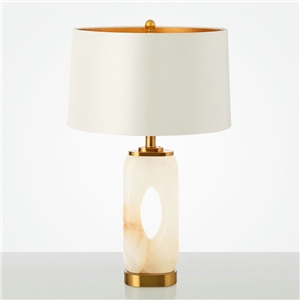 Contemporary Simple Table Lamp Hollow Fixture Table Lamp Iron Dolomite Desk Light