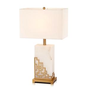 Contemporary Simple Table Lamp Iron Dolomite Table Lamp Unique Fixture Desk Light