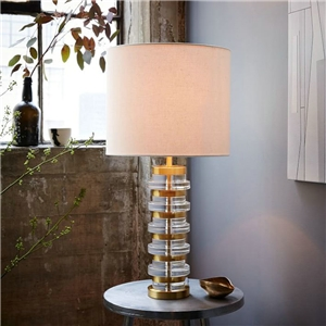 Contemporary Simple Table Lamp Column Shape Table Lamp Bedside Study Room Desk Light