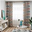 Simple Cartoon Curtain Cute Wild Goose Printing Curtain Kid's Room Fabric (One Panel)