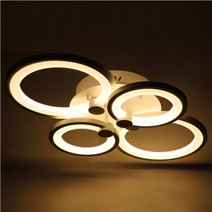 Stylish living Room Iights Acrylic led Ceiling lamps Energy Saving