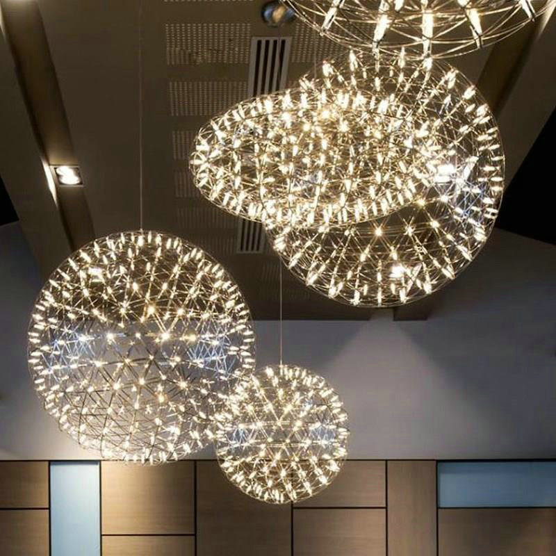 Artistic Stairs Canada: Contemporary Simple LED Pendant Light Hollow Stainless