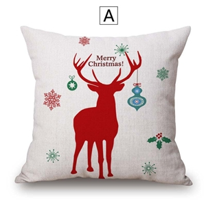 Creative Cute Pillow Cover Personalized Printing Pillow Cover Christmas Pillow Case