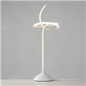 Contemporary Simple LED Table Lamp Aluminum + Iron Fixture Acrylic Shade LED Table Lamp Rope Knot Shape Desk Light