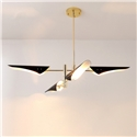 Nordic Simple Pendant Light Frosted Spray Painting Pendant Light Special Bedroom Living Room Light