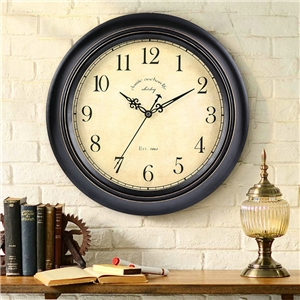 Simple Round Wall ClockNon Ticking Wall Clock