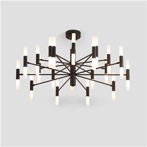Modern LED Chandelier Electroplating Living Room Bedroom Dining Room Office Lighting