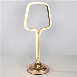 Contemporary Simple LED Table Lamp Aluminum + Iron Fixture Acrylic Shade LED Table Lamp Bottle Opener Shape Desk Light
