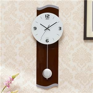 Contemporary Pendulum Wall Clock Acrylic Non Ticking Wall Clock