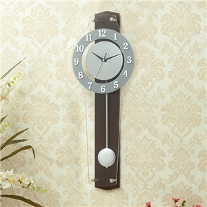 Transparent Acrylic Wall Clock Modern Non Ticking Wall Clock