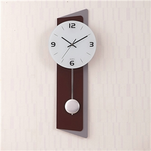 Modern Pendulum Wall Clock Acrylic No Ticking Wall Clock