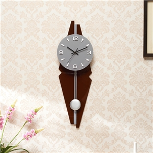 Creative Pendulum Wall Clock Acrylic Mute Wall Clock