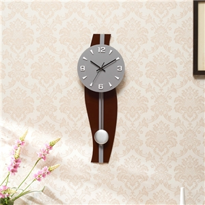 Creative Acrylic Wall Clock Modern Non Ticking Wall Clock A/B Options
