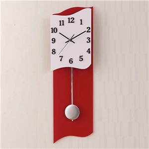 Simple Acrylic Wall Clock Modern Wave Edge Wall Clock
