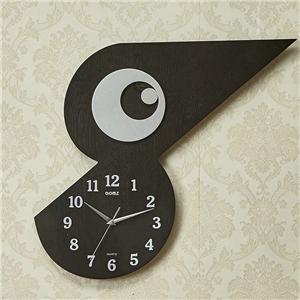 Lifelike Bird Wall Clock Special Non Ticking Wall Clock A/B Options
