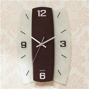 Decorative Wooden Wall Clock Unique Mute Wall Clock A/B Options