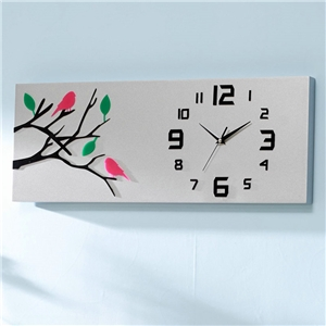 Modern Acrylic Wall Clock Simple Non Ticking Wall Clock A/B/C Optionts