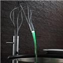 Faucet for Vessel Sinks Bathroom LED Sink Faucet Color Changing LED Tap - Chrome Finish