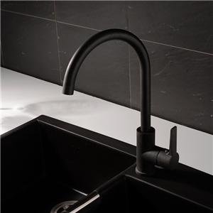 Black Kitchen Faucet Spray Painting Modern Kitchen Tap