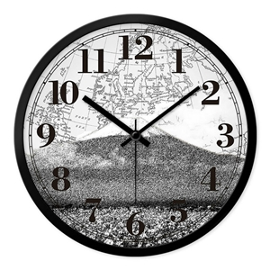 Vintage Designer Wall Clock Famous Scenic Spot Mute Wall Clock 12inch