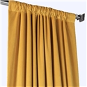 Solid Yellow Curtain Simple Velvet Curtain Living Room Bedroom Study Fabric