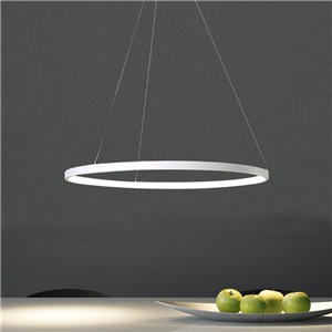 Modern LED Pendant Light LED Circle Ceiling Light 40W Energy Saving