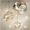 Nordic Simple Pendant Light Stainless Steel Hollow Planet Shape Pendant Light Bedroom Living Room Light
