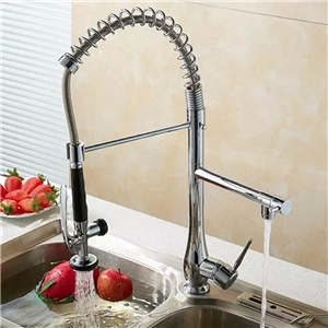 Dual-function Kitchen Faucet Contemporary Kitchen Tap