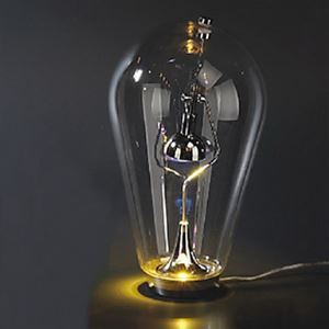 Artistic Bottle Table Light with 1 Light Creative Table Lamp